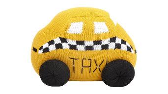 Taxi Baby Pillow