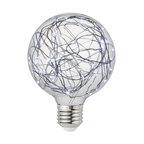 Judy Lighting G95 LED Fairy String Light Bulb, Cool White