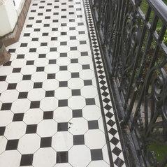 Victorian Style Floor Tiles Balcony Veranda