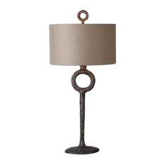 Uttermost Ferro Cast Iron Table Lamp