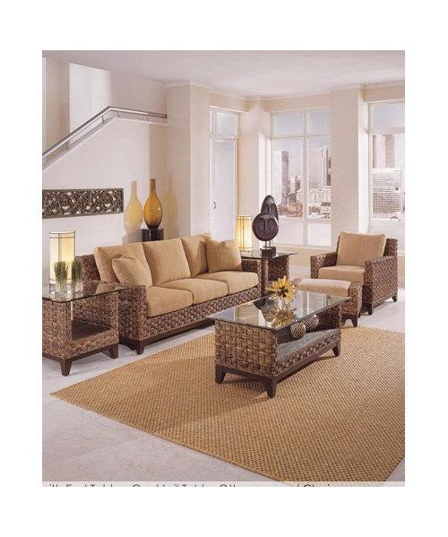 Rattan Wicker Furniture For Sun Room In Rental Property