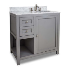 Hardware Resources Jeffrey Alexander VAN103-36-T Astoria Modern Vanity