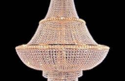 "Weinstock 7100/72"" Empire-Style Crystal Chandelier"