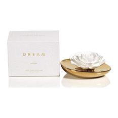 Dream Porcelain Flower Diffuser, White Rose