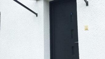 Pose de portes et de garde-corps