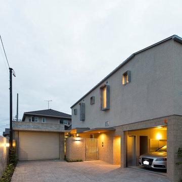 大谷町の家/コートハウス