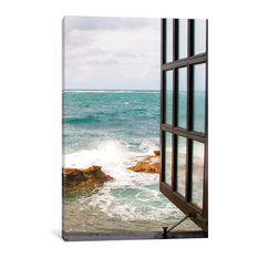 """""""Looking to the Sea"""" by Brookview Studio, Canvas Print, 26""""x18"""""""