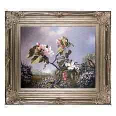Apple Blossoms and Hummingbird