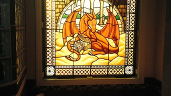 Pictorial Stained Glass Windows and Panels