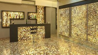 Light your mosaic tile structure