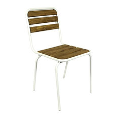 Camberra Dining Chairs, White, Set of 2