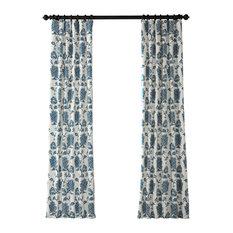 """Duchess Printed Cotton Twill Curtain, 50""""x108"""""""