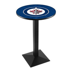 Winnipeg Jets Pub Table by Holland Bar Stool Company