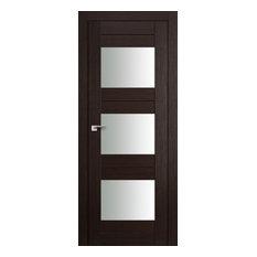Milano-41X Wenge Melinga Interior Door, 24x80, Door Slab Only