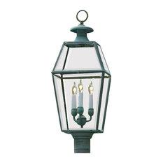 Old Colony Lantern, Verde Brass by Lazy Hill Farm Designs