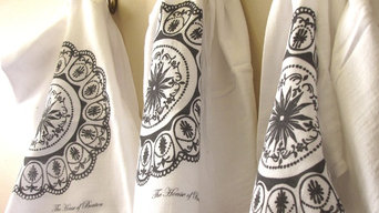 Hand Printed Flour Sack Towels
