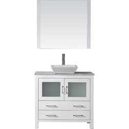 Transitional Bathroom Vanity Units Sink Cabinets By Virtu Usa Inc