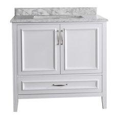 White Bathroom Vanities Houzz