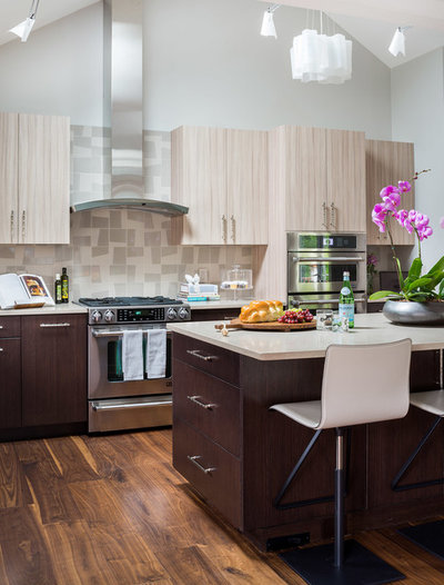Contemporary Kitchen by Justine Sterling Design