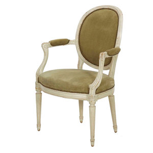 Michael Amini Lavelle Blanc Armchairs Set Of 2