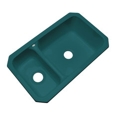Richmond Undermount Kitchen Sink, Teal