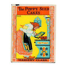 """Decorative Book, 1924 """"The Poppy Seed Cakes"""" Illustrated Children's Book"""