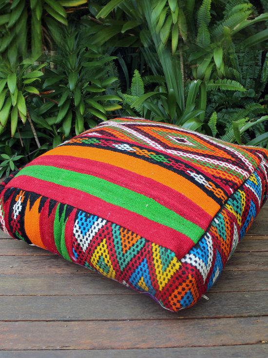 Large Moroccan Floor Cushions