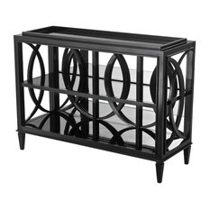 Eichholtz Forsythe Black Cabinet