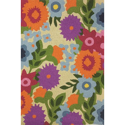 Contemporary Outdoor Rugs by Jellybean