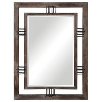 Uttermost Ebbe Rustic Farmhouse Mirror
