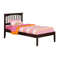 Mission Open Foot Bed, Espresso, Twin XL