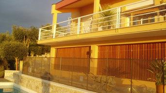 Rifacimento facciata di Villa privata