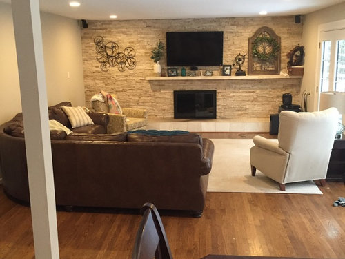 Color options for living room/kitchen