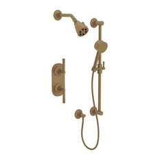Rohl MBKIT25LM Graceline Thermostatic Shower Trim Package with Multi Function S