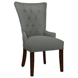 Hekman Woodmark Sandra Dining Chair, Light Blue Green