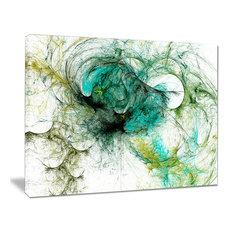 """Fractal Digital Paint Pattern"" Abstract Digital Art Canvas Print, 20""x12"""