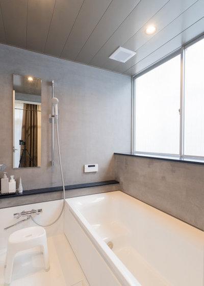 モダン 浴室 by 相羽建設