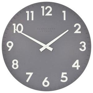 Thomas Kent Camden Clock, Slate, 50 Cm