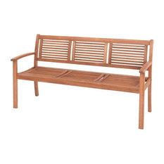 Merxx - Gartenbank Cordoba (3-Sitzer) - Gartenbänke