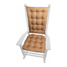 Hayden Copper Rocking Chair Cushions, Latex Foam Fill, Extra-Large