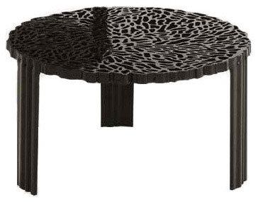 T-Table Sidobord, Svart Liten - Sideborde & aflastningsborde