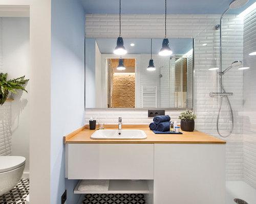 Foto e Idee per Bagni - bagno mediterraneo di medie dimensioni
