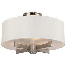 Transitional Flush-mount Ceiling Lighting by Hansen Wholesale