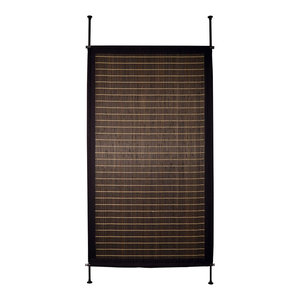 "38""x68"" Bamboo Privacy Panel, Walnut"