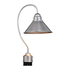 """Outland 10"""" Outdoor Post Light in Brushed Pewter"""