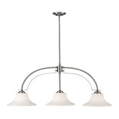 Murray Feiss Barrington Three Light Island Chandelier F2248/3BS