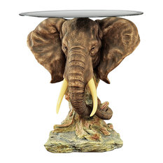 Design Toscano   Lord Houghtons Elephant Table   Side Tables And End Tables