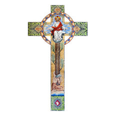 "Mosaic Ornamented Cross, 216""x383"""