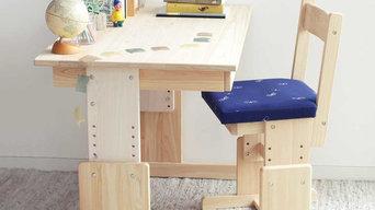 2本脚の机