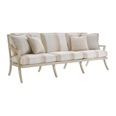Tommy Bahama Misty Garden Outdoor Sofa in Ivory-Gold
